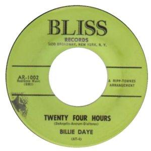 DAYE BILLIE 61 B