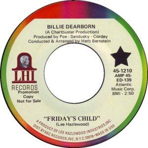 DEARBORN BILLIE 68 A