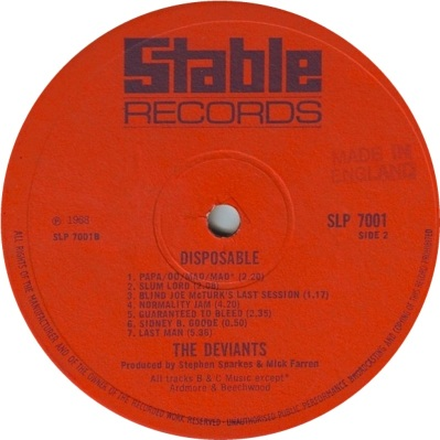DEVIANTS - DISP 02 RB