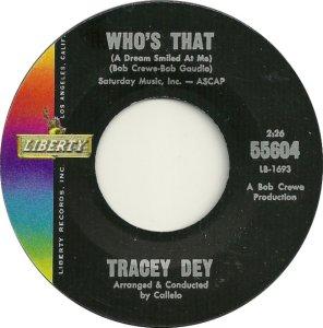 DEY TRACEY 63 B