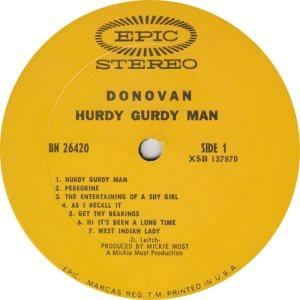 DONOVAN 10 B