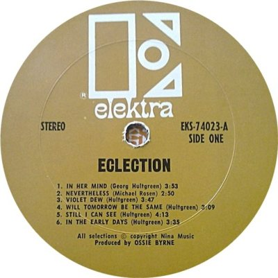 ECLECTION 01 C