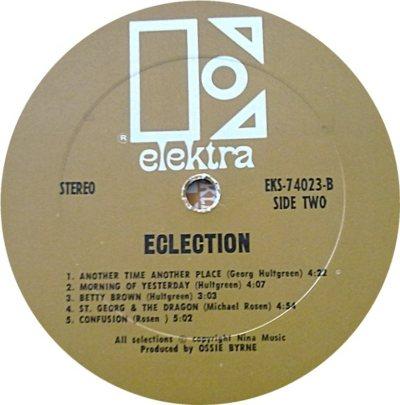 ECLECTION 01 D