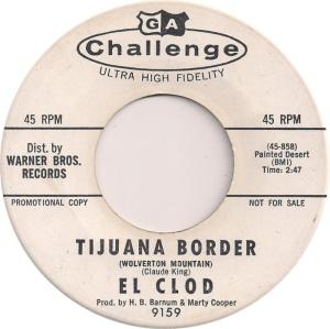 EL CLOD - CHALLENGE 9159 DJ A
