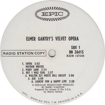 ELMER GANTRY'S VELVET OPERA 01 A