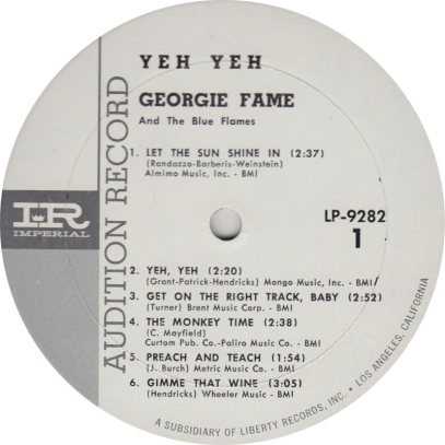 FAME GEORGIE 01