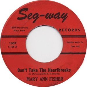 FISHER MARY ANN 61 AA
