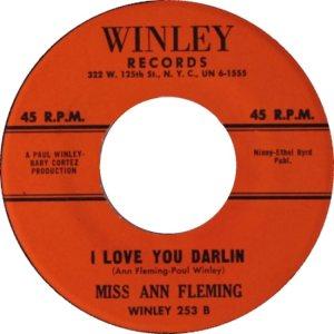 FLEMING MISS ANN 61 B