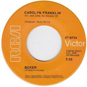 FRANKLIN CAROLYN 69 A