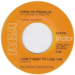 FRANKLIN CAROLYN 69 B