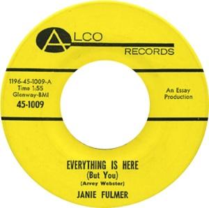 FULMER JANIE 65 A