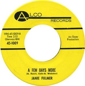 FULMER JANIE 65 B