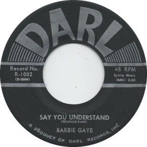 GAYE BARBIE 56 B