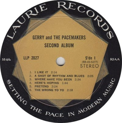 GERRY PACEMAKERS 02 SECOND