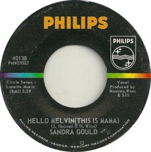 GOULD SANDRA 63 A