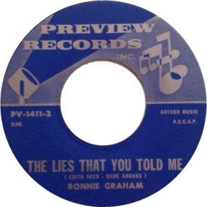 GRAHAM BONNIE - 68 B