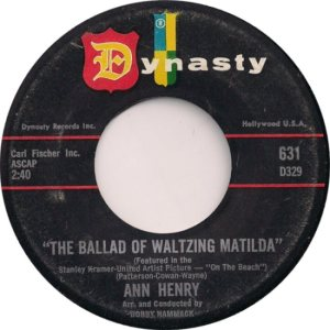 HENRY ANN 59 B