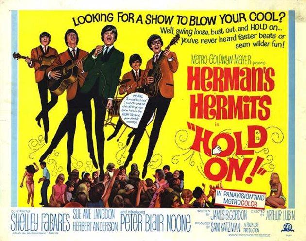 HERMANS HOLD ON POSTER