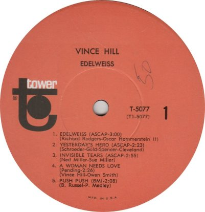 HILL VINCE - 01