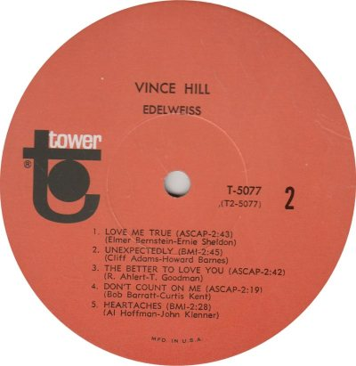 HILL VINCE - 01_0001