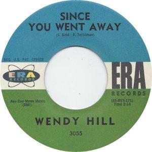 HILL WENDY 61 B