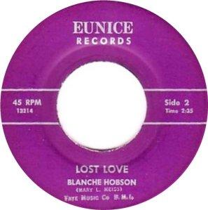 HOBSON BLANCHE 64 B