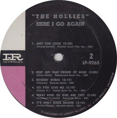 HOLLIES 01 - HERE I GO_0001