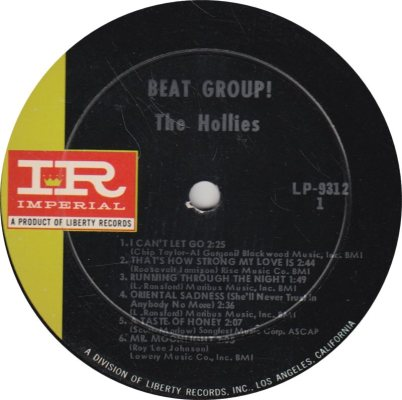 HOLLIES 03 - BEAT G