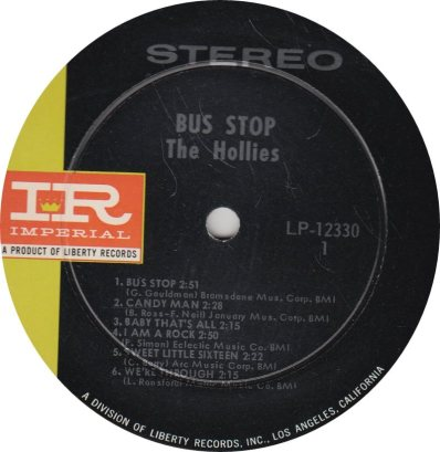 HOLLIES 04 - BUS