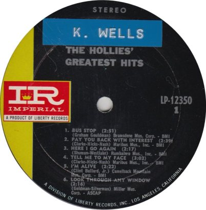 HOLLIES 05 GREAT