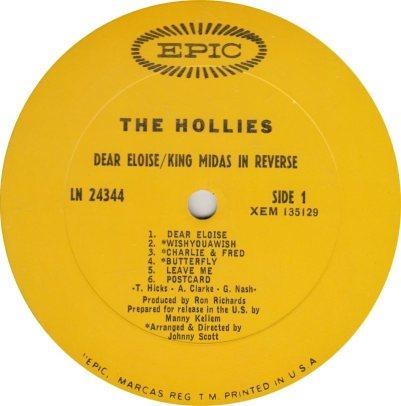 HOLLIES 07 MIDAS