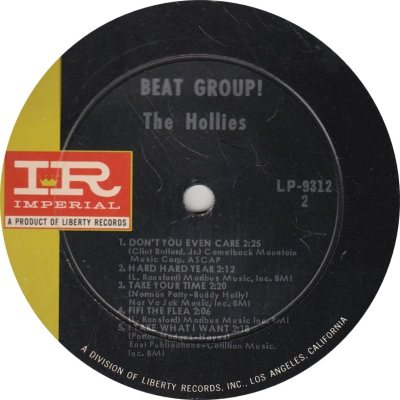 HOLLIES - BEAT GROUP 2_0001