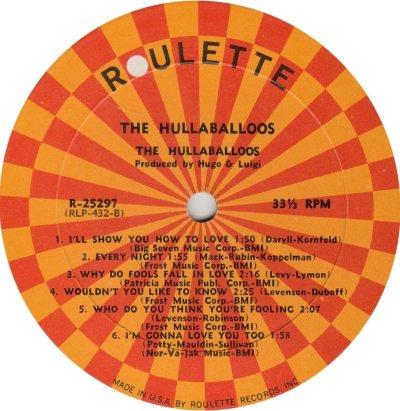 HULLABALLOOS 01 R NEWEST