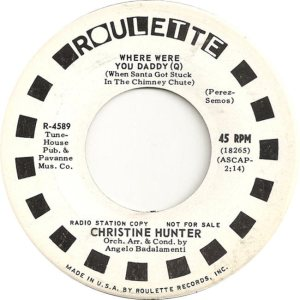 HUNTER CHRISTINE 64 B