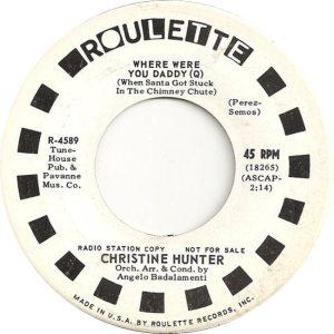 HUNTER CHRISTINE 64 B