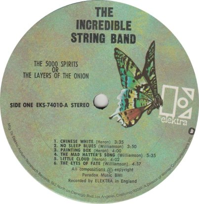 INCREDIBLE STRING 02 - 5000