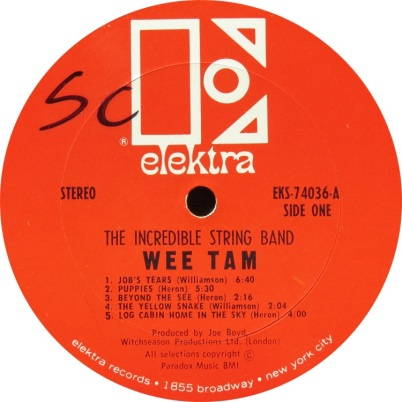 INCREDIBLE STRING BAND - ELEKTRA WEE TAM (3)