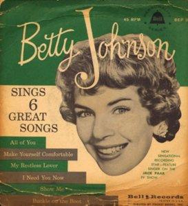 JOHNSON BETTY 58 EP 2