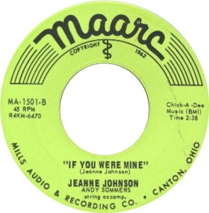 JOHNSON JEANNIE 64 B