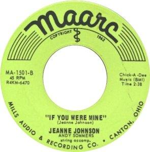 JOHNSON JEANNIE 64 B