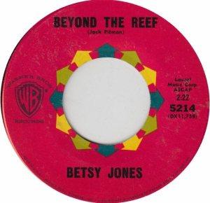 JONES BETSY 61 B