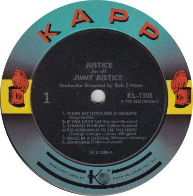 JONES JUSTICE 01