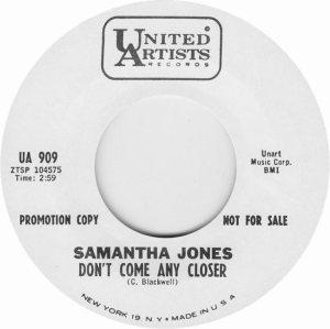 JONES SAMANTHA 67 A