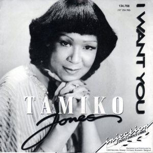 JONES TAMIKO 80's NETH