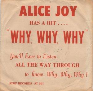 JOY ALICE - 1969 01 A