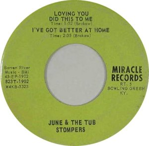 JUNE TUB STOMPERS 68