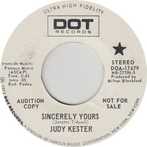 KESTER JUDY - DOT 17479
