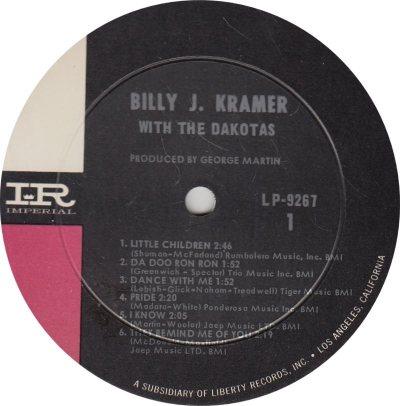KRAMER BILLY J 01 LITTLE