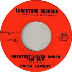 LAMONT PAULA - 64 B