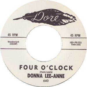 LEE ANNE DONNA - 62 A